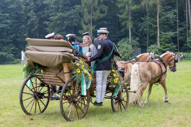2018 schützenfest hemeringen - schlacht am hemeringer berg und parade