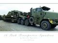 AS90 on Oshkosh Tank Transporter