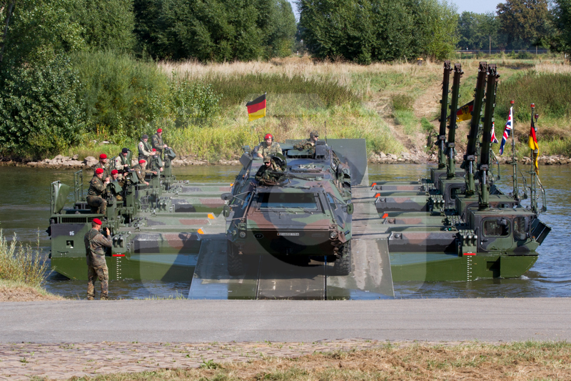 Panzerpionierbataillon 130 Minden - Kampf über Gewässer