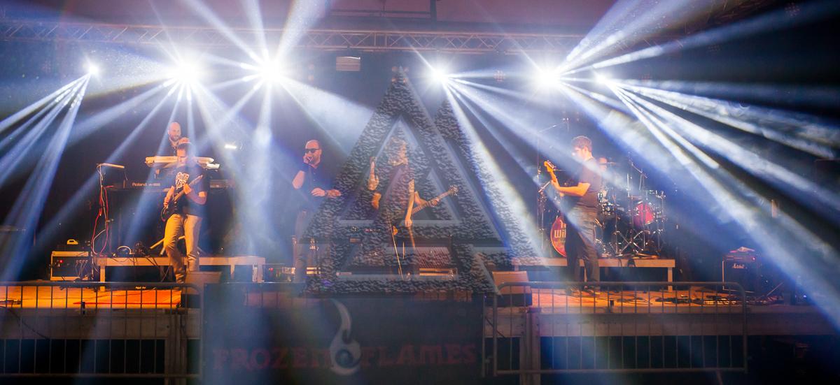 ROCK AM ITH - FALTENROCK - FROZEN FLAMES - TALKIN'WIRE