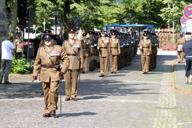 Auflösung der 42 Field Squadron des 28 Engineer Regiments Hameln