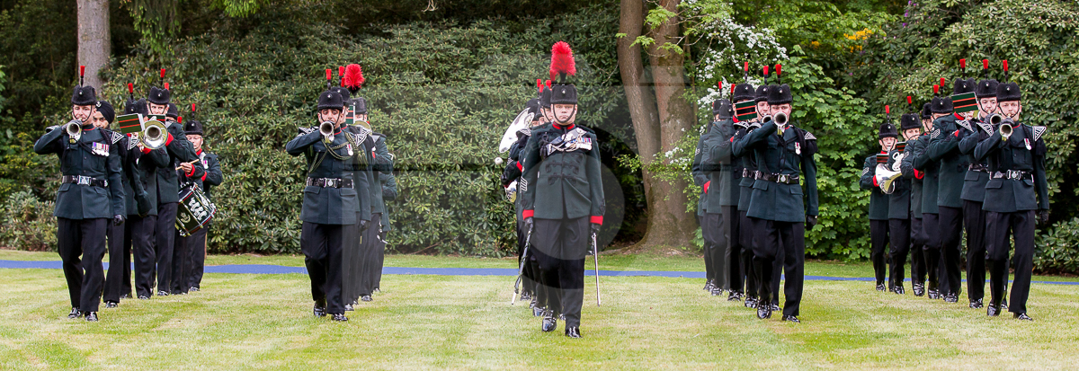 Reflections: THE BAND AND BUGLES OF THE RIFLES