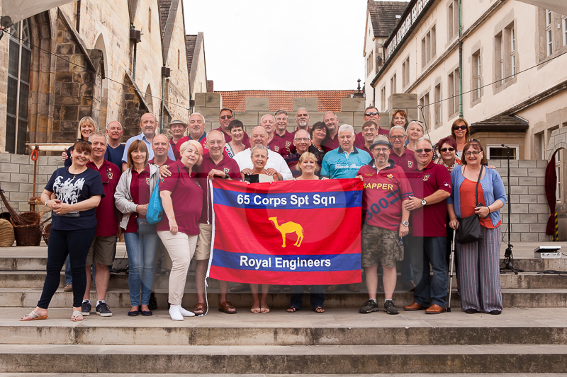 65 Corps Support Squadron back in town…….
