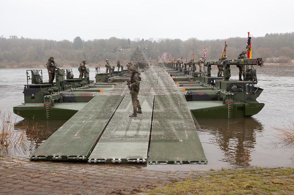 40 Jahre Partnerschaft zwischen der britischen und deutschen Armee