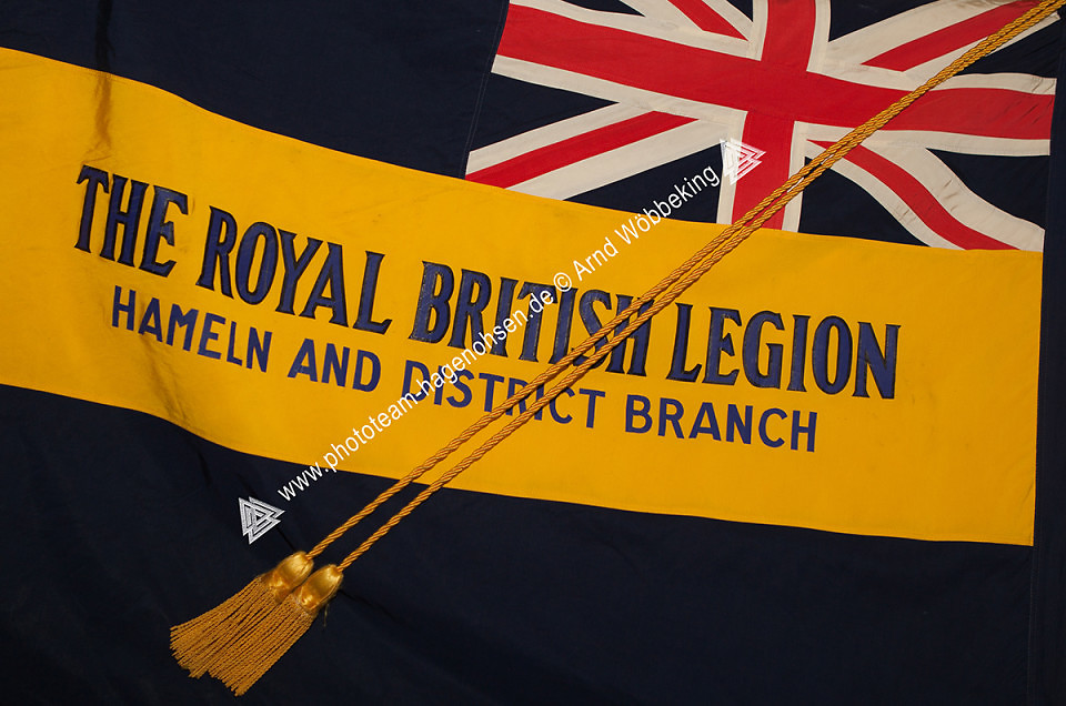 ROYAL BRITISH LEGION HAMELN BRANCH STANDARD