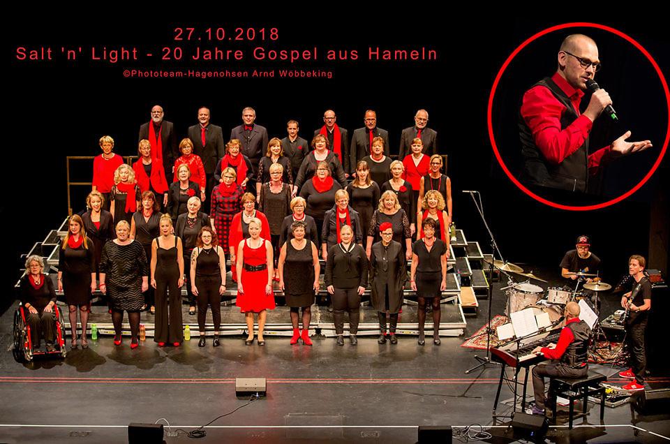 27.10.2018 Salt'n'Light feiert 20. Geburtstag im Theater Hameln