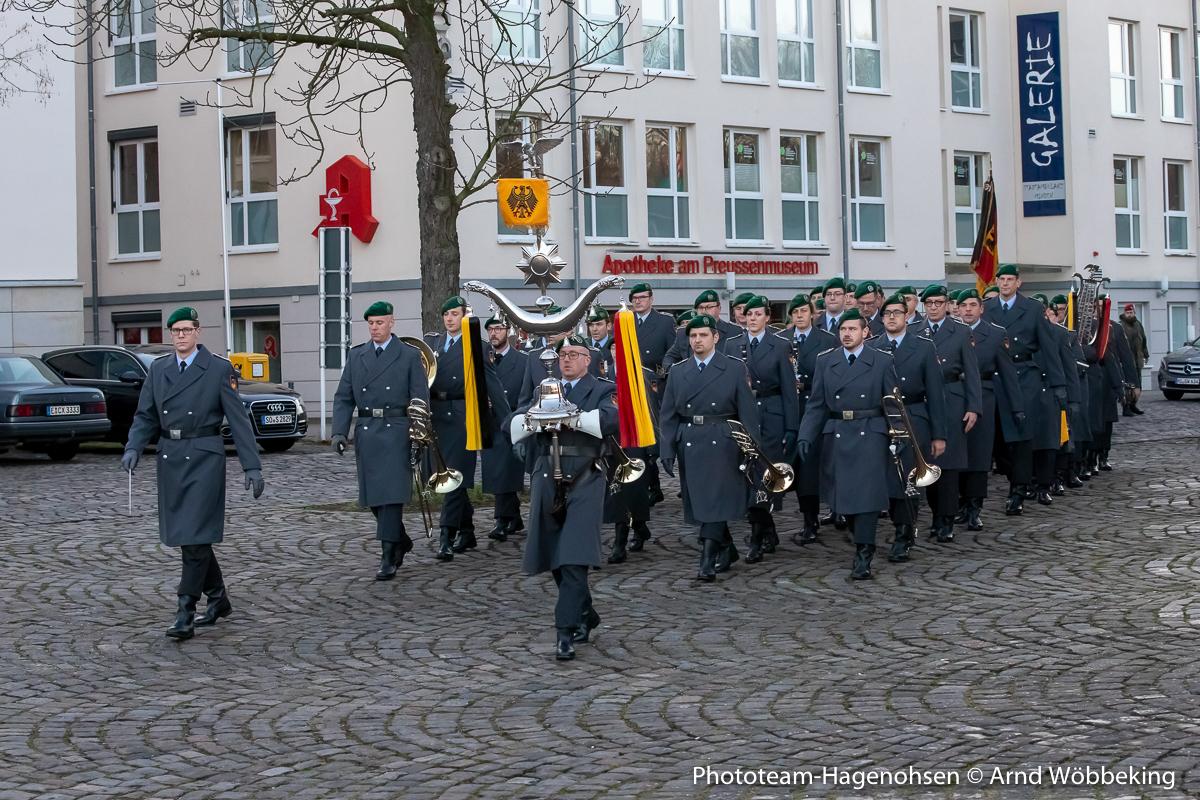 Das Heeresmusikkorps Kassel
