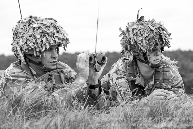 A day out with the Gunners of 26 Regiment Royal Artillery on Sennelager Training Ranges