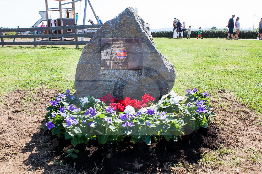 22.08.2015 – Einweihung des Gedenksteins für die 65 Corps Support Squadron