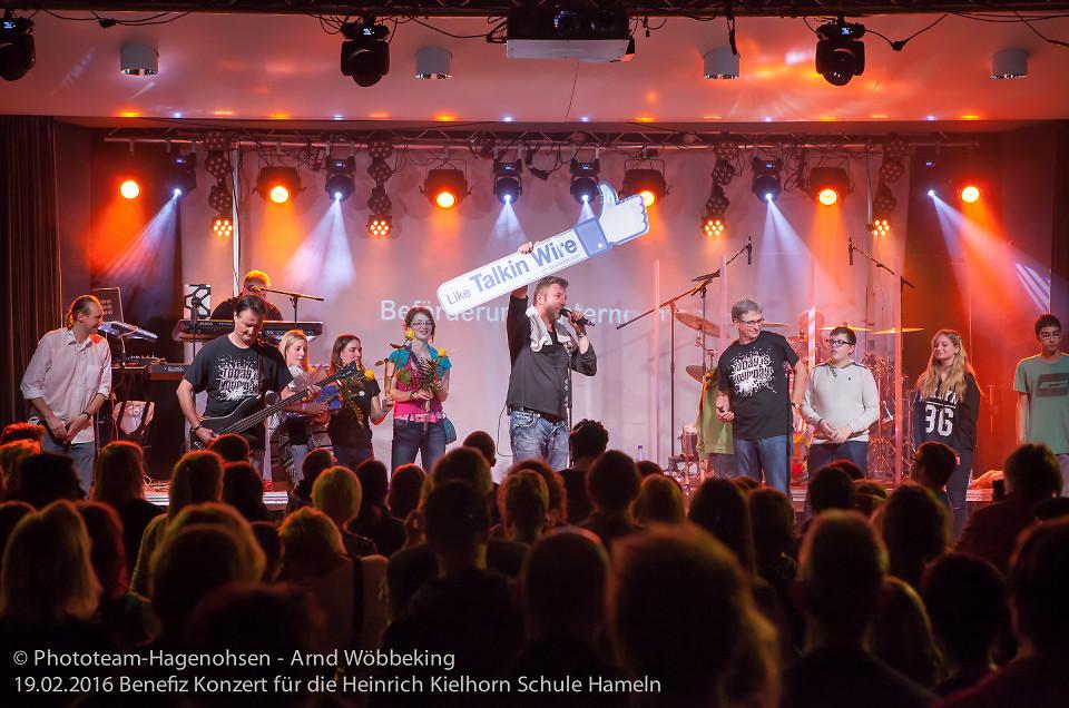 19.02.2016 Benefizkonzert für die Kinder der Heinrich-Kielhorn Schule Hameln