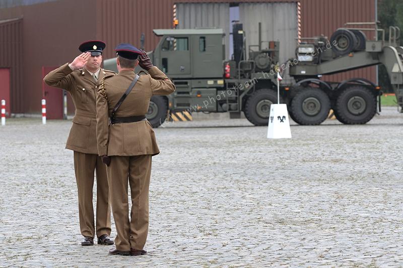 25.07.2014 Disbandment 16th Tank Transporter Squadron